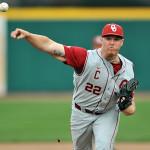Oklahoma right-handed pitcher Jonathan Gray. Credit: Ken Inness/ZumaPress.com.